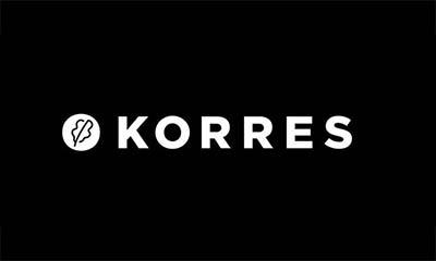 korres black logo