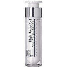 FREZYDERM Night Force A + E Cream Αντιγηραντική Κρέμα Νυκτός με Ρετινόλη και Βιταμίνη Ε 50ml, fig. 1