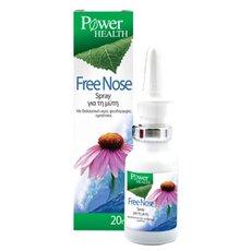 POWER HEALTH Free Nose Spray Σπρέι για τη μύτη με θαλασσινό νερό για το Μπούκωμα 20ml, fig. 1