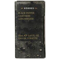 KORRES Ανδρικό Άρωμα Black Pepper Cashmere Lemonwood, 50ml, fig. 1