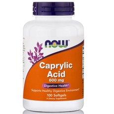 NOW FOODS Caprylic Acid 600mg 100softgels