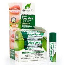 Dr. Organic Aloe Vera Lip Balm 5,7ml, fig. 1