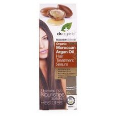 Dr. Organic Moroccan Argan Oil Hair Treatment Serum, 100ml, fig. 1