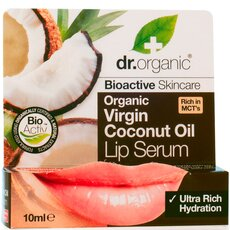 Dr. Organic Organic Virgin Coconut Oil Lip Serum 10ml, fig. 1