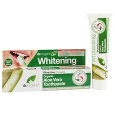 Dr.Organic Organic Aloe Vera Toothpaste (Whitening) 100ml, fig. 1