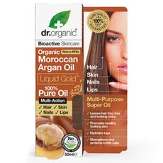 Dr.Organic Organic Moroccan Argan Oil Liquid Gold 50ml, fig. 1