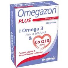 HEALTH AID Omegazon Plus Omega & CoQ10 30Caps, fig. 1