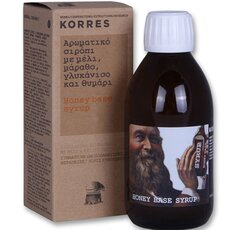 KORRES Αρωματικό Σιρόπι για τον Πονόλαιμο με Μέλι, Μάραθο, Γλυκάνισο και Θυμάρι, 200ml, fig. 3