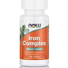 NOW FOODS Iron Complex Vegetarian 100tabs