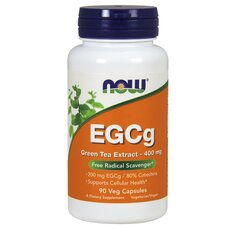 NOW FOODS EGCg Green Tea Extract 400mg 90Vcaps