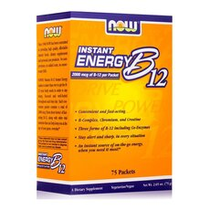 NOW FOODS Instant Energy B-12 75 Packets