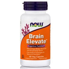 NOW FOODS Brain Elevate 60Vcaps