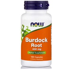 NOW FOODS Burdock Root 430mg 100caps