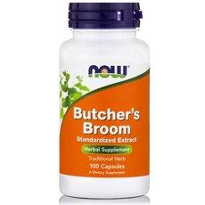 NOW FOODS Butchers Broom 500mg 100caps