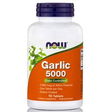 NOW FOODS Garlic 5000 (Odor Controlled) 90tabs