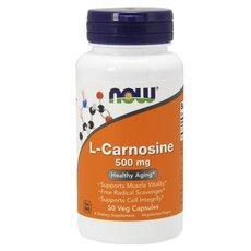 NOW FOODS L-Carnosine 500 mg 50Vcaps
