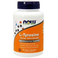 NOW FOODS L-Tyrosine 750 mg 90caps