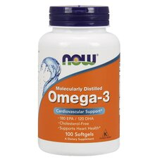 NOW FOODS Omega-3 1000mg Deep Sea Fish Oil 100 Softgels