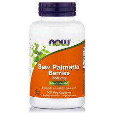 NOW FOODS Saw Palmetto Berry 550 mg 100caps