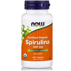 NOW FOODS Spirulina 500mg 100tabs