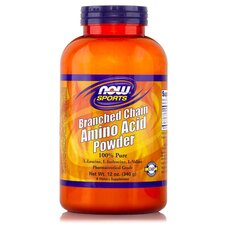 NOW FOODS Sports Branched Chain Amino Acid Powder (BCAA) 12 Oz 340gr