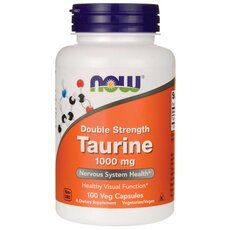NOW FOODS Taurine 1000 mg Free-Form 100caps