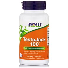 NOW FOODS TestoJack 100 100mg 60Vcaps