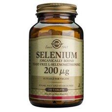 Solgar Selenium 200μg Σελήνιο 250 Tablets, fig. 1