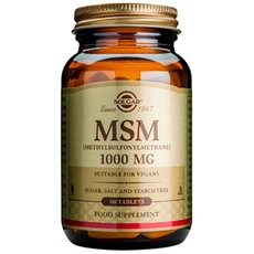 Solgar MSM 1000mg, 60 Tablets, fig. 1