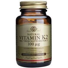 Solgar Vitamin K2 100μg 50 Vegetable Capsules, fig. 1