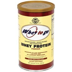 Solgar Whey To Go Protein με Γεύση Βανίλια 340gr, fig. 1