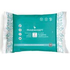 PHARMASEPT Tol Velvet Hygienic Cleansing Gloves Πρακτικό γάντι καθαρισμού σώματος για την προσωπική υγιεινή 10τμχ, fig. 1