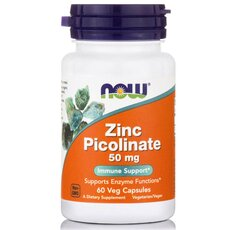 NOW FOODS Zinc Picolinate 50 mg 60caps