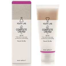 YOUTH LAB CC Complete Cream SPF30 Καλυπτική σύνθεση ολικής αναδόμησης κανονικό-ξηρό δέρμα 50ml, fig. 1