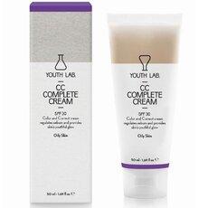 YOUTH LAB CC Complete Cream SPF30 Καλυπτική σύνθεση ολικής αναδόμησης λιπαρό δέρμα 50ml, fig. 1