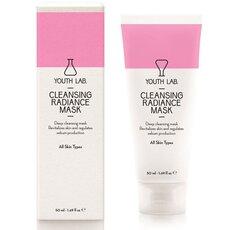 YOUTH LAB Cleansing Radiance Mask Μάσκα καθαρισμού, λάμψης και μείωσης των διεσταλμένων πόρων 50ml
