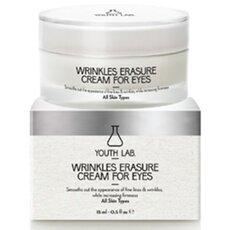 YOUTH LAB Wrinkles Erasure Cream For Eyes Αντιρυτιδική κρέμα ματιών για μαύρους κύκλους και οιδήματα, κάθε τύπο δέρματος 15ml, fig. 1