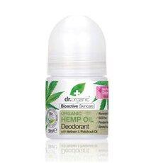 Dr.Organic Hemp Oil Deodorant με Βιολογικό Έλαιο Κάνναβης 50ml