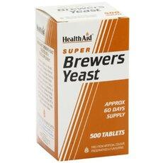 HEALTH AID Brewers Yeast 300mg 500Tabs, fig. 1
