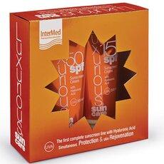 INTERMED Luxurious Πακέτο Υψηλής Προστασίας Face Cream 50SPF 75ml & Sunscreen Cream SPF15 200ml