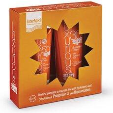 INTERMED Luxurious Πακέτο Υψηλής Προστασίας Face Cream SPF50 75ml & Sunscreen Cream SPF30 200ml