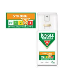 JUNGLE FORMULA Strong Soft Care για Ισχυρή Προστασία Φιλική προς το Δέρμα με IRF 3 75ml