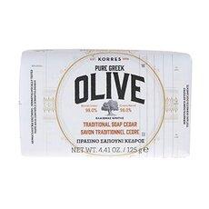 KORRES Pure Greek Olive Πράσινο Σαπούνι Ελιά & Κέδρος 125ml