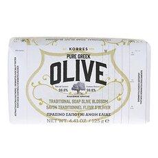 KORRES Pure Greek Olive Πράσινο Σαπούνι Ελιά & Άνθη Ελιάς 125ml