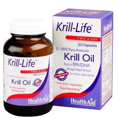 HEALTH AID Krill-Life 100% Pure Antarctic 90Caps, fig. 1
