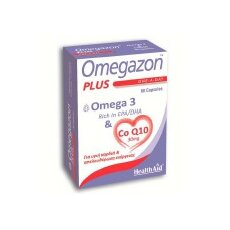HEALTH AID Omegazon Plus Omega & CoQ10 60Caps