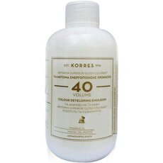 KORRES KORRES Abyssinia Superior Gloss Colorant γαλάκτωμα ενεργοποιήσης χρώματος 40 για 2 εφαρμογές 150mL