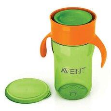 AVENT Κύπελλο Εκμάθησης για Νήπια Πράσινο-Πορτοκαλί 340ml SCF784/00