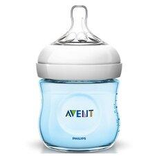 AVENT ΜπιμπAVENT Πλαστικό Μπιμπερό Μπλε με Θηλή ροής για Νεογνά 0+ μηνών 125ml SCF692/17