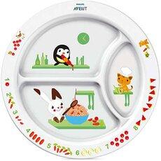 AVENT Πιάτο με διαχωριστικά για Νήπια 12+μηνών SFC702/00